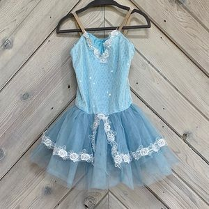 Revolution Dancewear Blue Costume